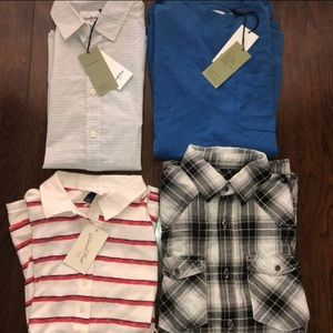 NWT men's size small shirt bundle of 4